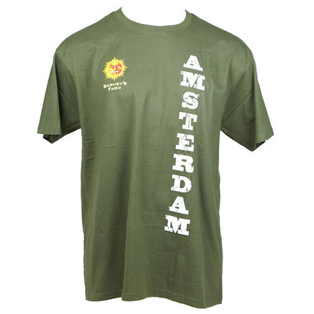Barneys Farm Amsterdam - Army Green - T-shirt