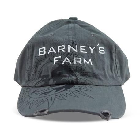 Barneys Farm Baseball Caps - Army Grey