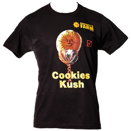 Barney's Farm Cookie Kush - Camiseta
