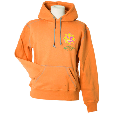 Hooded Sweatshirts (Ladies) - Orange