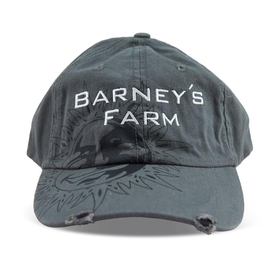 BARNEYS FARM BASEBALL CAPS - ARMY GREY 3b4814aad24