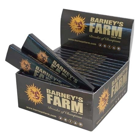 Organic Rolling Papers with Filter Tips - Box of 26